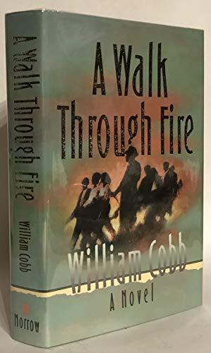 9780688113667: A Walk Through Fire: A Novel