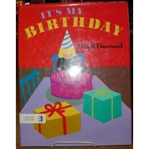 9780688114220: It's My Birthday