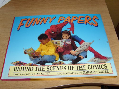 9780688115753: Funny Papers: Behind the Scenes of the Comics