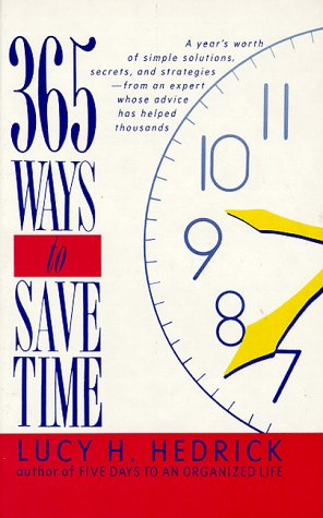 9780688117511: 365 Ways to Save Time