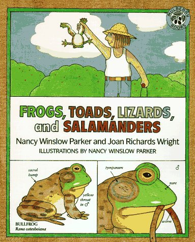 9780688118457: Frogs, Toads, Lizards, and Salamanders