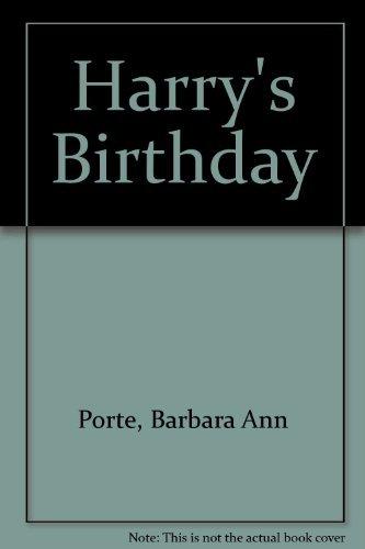 9780688121426: Harry's Birthday