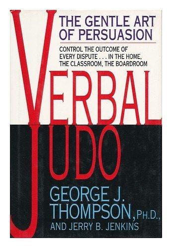 9780688122638: Verbal Judo: Gentle Art of Persuasion