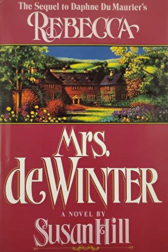 9780688127077: Mrs. De Winter