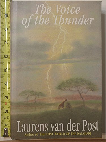 9780688129514: The Voice of the Thunder