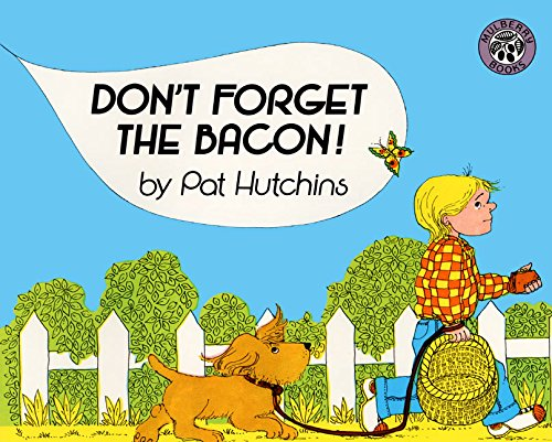 9780688131029: Don't Forget the Bacon! Big Book (Mulberry Big Books)