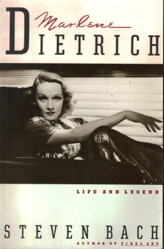 9780688132194: Marlene Dietrich: Life and Legend