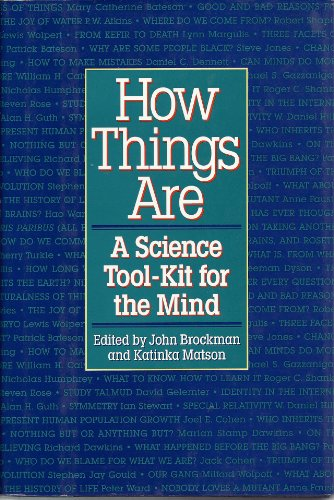 9780688133566: How Things Are: A Science Tool-Kit for the Mind