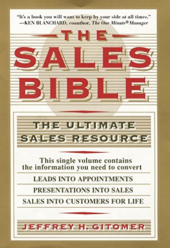 9780688133641: The Sales Bible The Ultimate Sales Resource