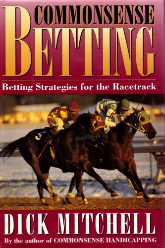 9780688133962: Commonsense Betting