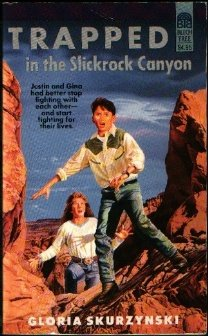 9780688136215: Trapped in the Slickrock Canyon (Mountain West Adventure)