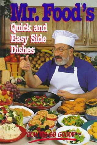 9780688137120: Mr. Food's Quick and Easy Side Dishes