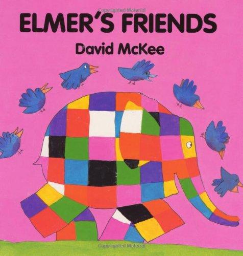 9780688137618: Elmer's Friends Board Book (Elmer Books)