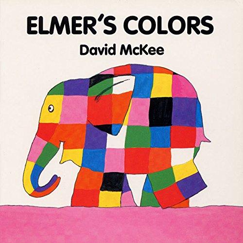 9780688137625: Elmer's Colors (Board Book)