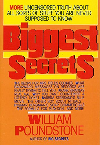 9780688137922: Biggest Secrets
