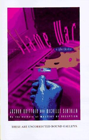 9780688143664: Flame War: A Cyberthriller