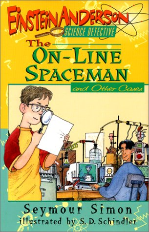 9780688144333: The On-Line Spaceman and Other Cases (Einstein Anderson, Science Detective)