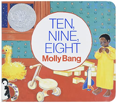 9780688149017: Ten, Nine, Eight Board Book (Caldecott Collection)