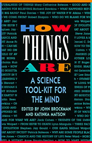 9780688149512: How Things Are: A Science Tool-Kit for the Mind