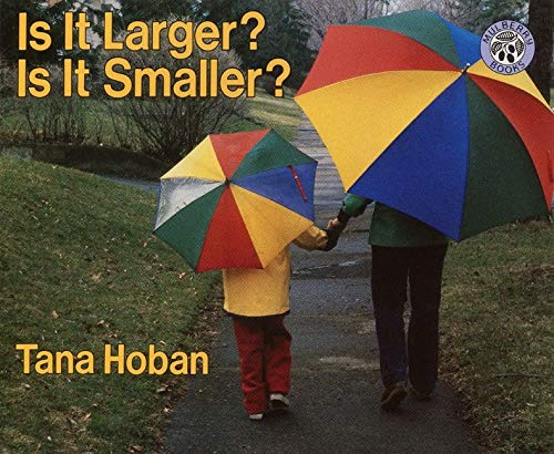 9780688152871: Is It Larger? Is It Smaller?