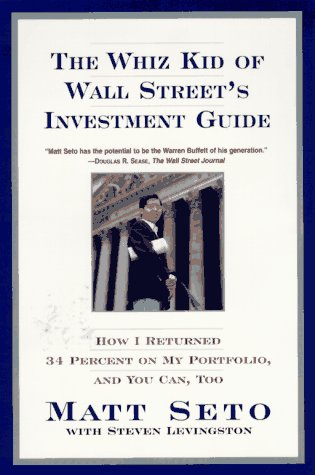 9780688153830: The Whiz Kid of Wall Street's Investment Guide: How I Returned 34% on My Portfolio