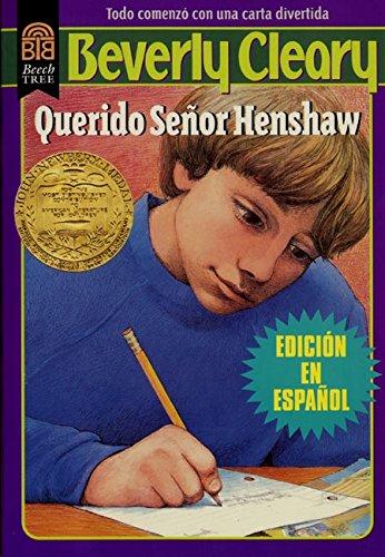 9780688154851: Querido Señor Henshaw (Spanish Edition)