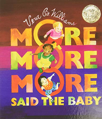 """9780688156343: """"More More More,"""" Said the Baby Board Book (Caldecott Collection)"""