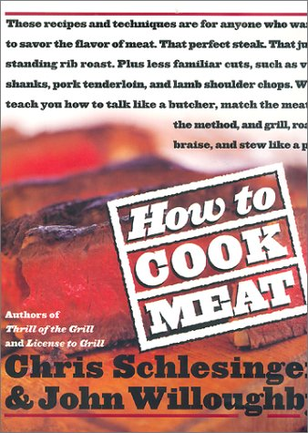 9780688161996: How to Cook Meat
