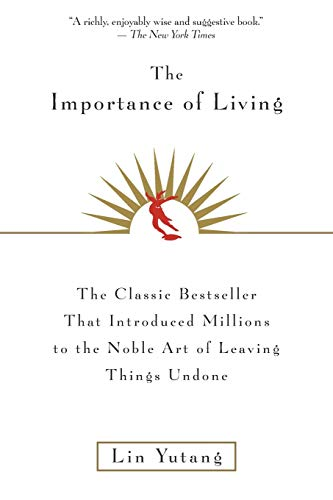 9780688163525: The Importance Of Living