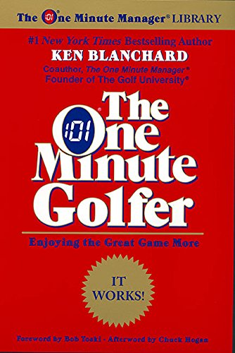 9780688168490: The One Minute Golfer: Enjoying the Great Game More (One Minute Manager Library)
