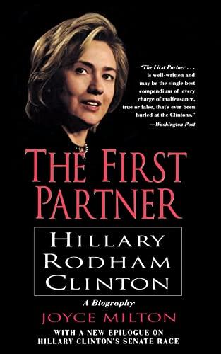 9780688177720: The First Partner: Hillary Rodham Clinton