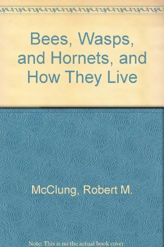 Bees, Wasps, and Hornets, and How They Live: McClung, Robert M.