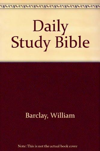 9780688242152: Daily Study Bible