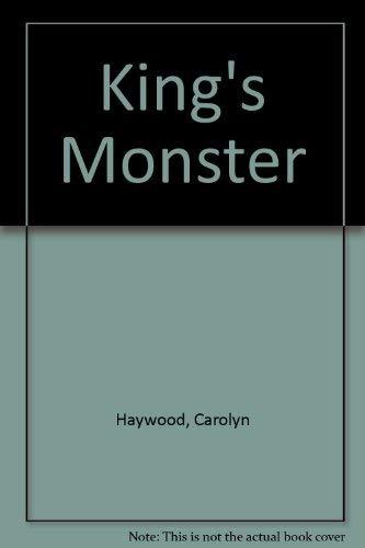 9780688322144: King's Monster