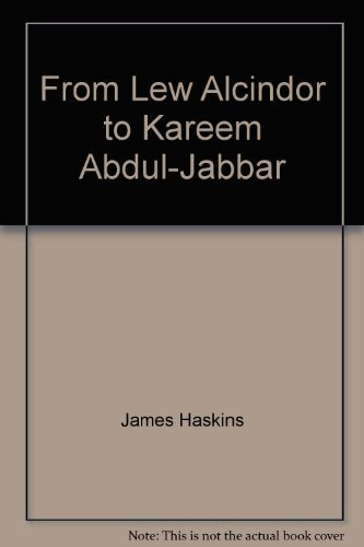 9780688418212: From Lew Alcindor to Kareem Abdul-Jabbar (Illustrated with Photographs)