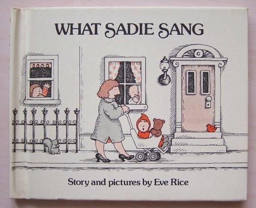 9780688800383: What Sadie sang