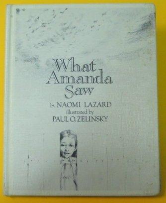 9780688802721: What Amanda Saw