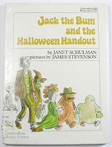9780688840570: Jack the Bum and the Halloween Handout
