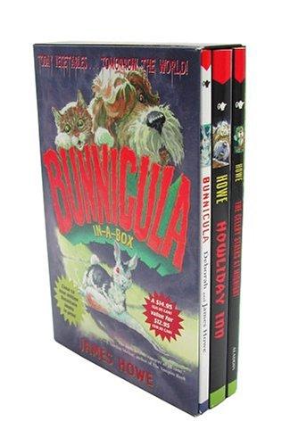 9780689033681: Bunnicula-in-a-Box: Bunnicula; Howliday Inn; The Celery Stalks at Midnight