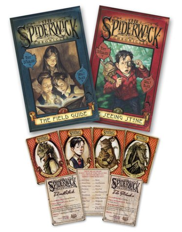 9780689034244: The Spiderwick Chronicles (Book 1: The Field Guide, Book 2: The Seeing Stone, Trading Cards pack of 7)