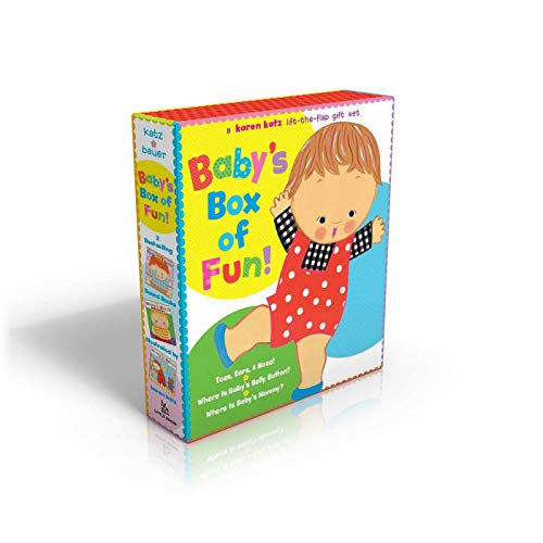9780689038624: Baby's Box of Fun: A Karen Katz Lift-the-Flap Gift Set: Where Is Baby's Bellybutton?; Where Is Baby's Mommy?: Toes, Ears, & Nose!