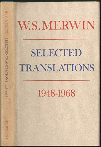 9780689101946: Selected Translations: 1948-1968