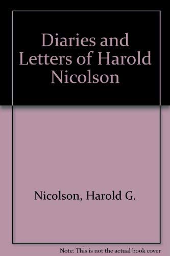 9780689102103: Diaries and Letters of Harold Nicolson