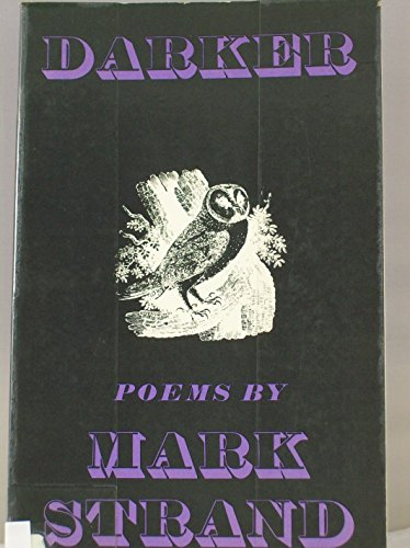 9780689103469: Darker; Poems.