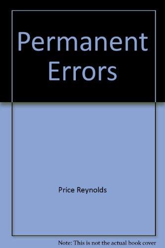 9780689103575: Permanent Errors