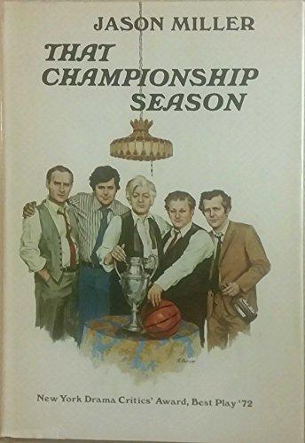 9780689105371: That Championship Season