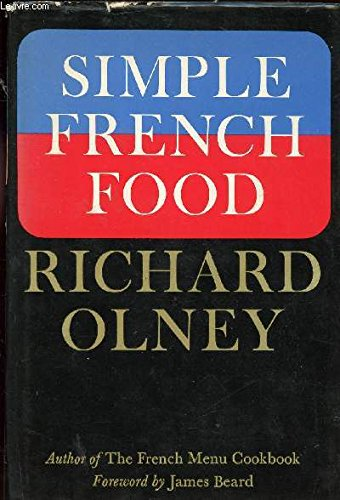 Simple French food (0689105754) by Olney, Richard