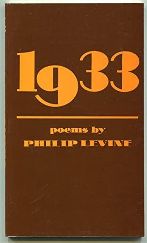 1933: Levine, Philip