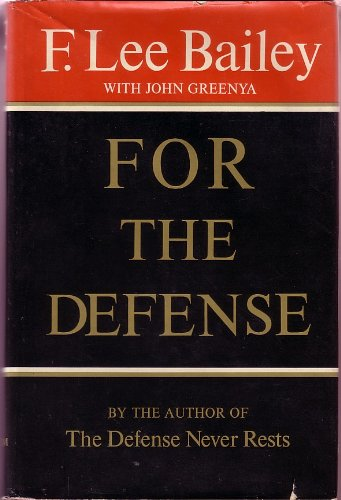 9780689106675: For the Defense