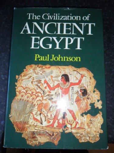 9780689109218: Civilization of Ancient Egypt